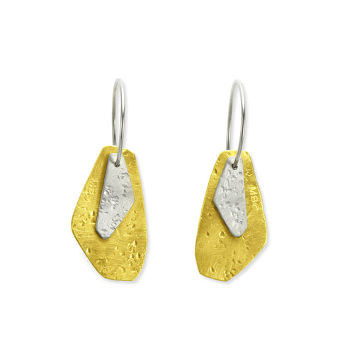 Golden Dew Short Earrings