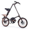 STRiDA SX Folding Bike, Bronze