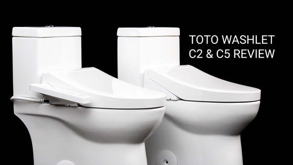 TOTO WASHLET C2 and C5 Bidet Toilet Seat Review