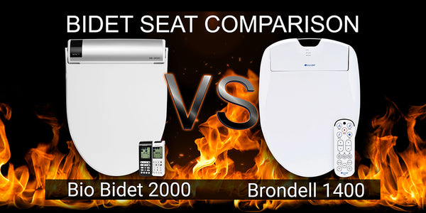 Bio Bidet BB-2000 Bliss vs Brondell Swash 1400: Bidet Toilet Seat Comparison