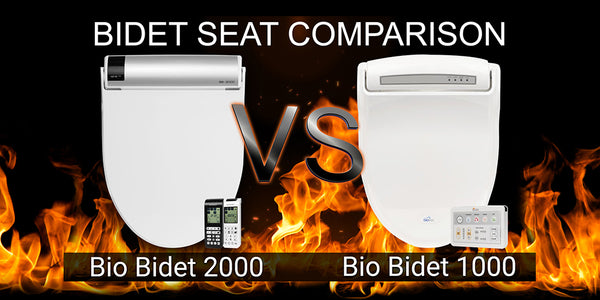 Bio Bidet BB-2000 Bliss vs Bio Bidet BB-1000 Supreme: Bidet Toilet Seat Comparison