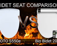 TOTO S550e Washlet vs Bio Bidet BB-2000 Bliss: Bidet Toilet Seat Comparison