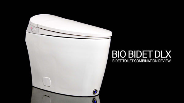 Bio Bidet Discovery DLX Bidet Toilet Combination Review
