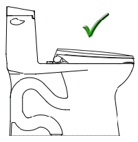 diagram of a two piece toilet