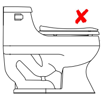 diagram of a one piece toilet