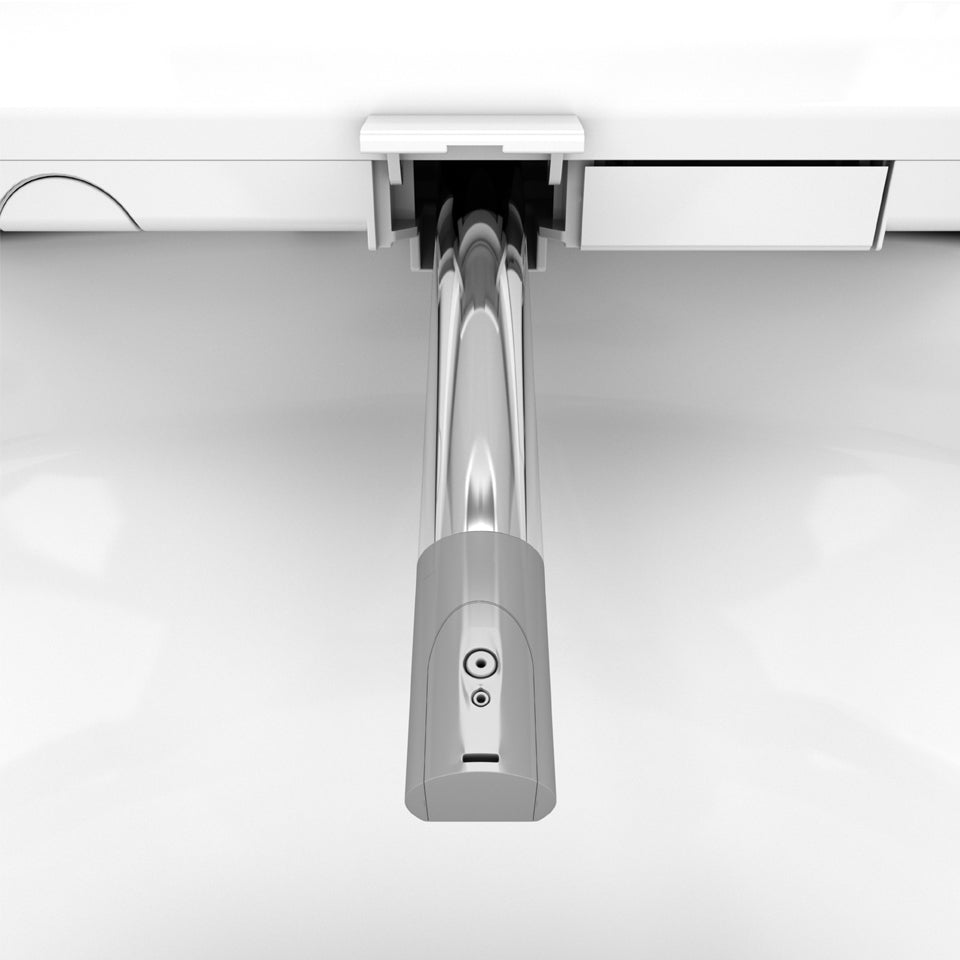close up of the bliss bidet nozzle