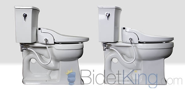 Round and Elongated Toilet