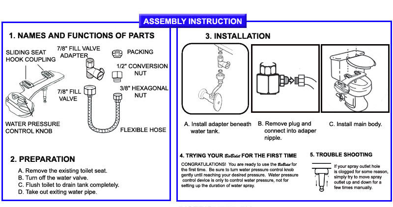 BB-70 Installation Instructions