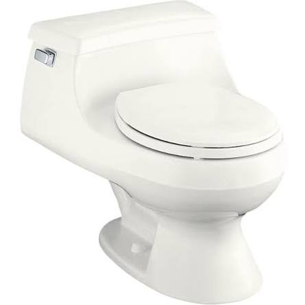 Kohler Rialto Toilet with a french curve design
