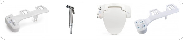 series of non electric bidet and hand held sprayers