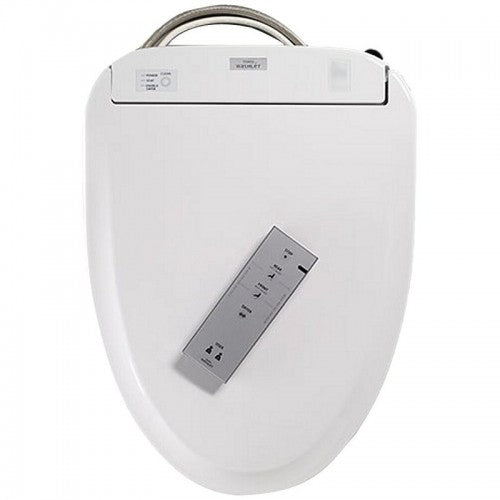 TOTO s350e Washlet with remote, top view