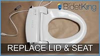 How To Remove A Bidet's Lid and Seat