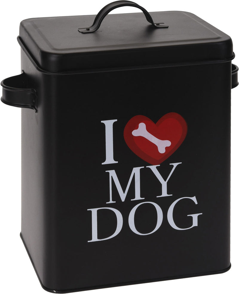 pet food tin storage container Large: 28 x 20.5 x 30h cm - 880g