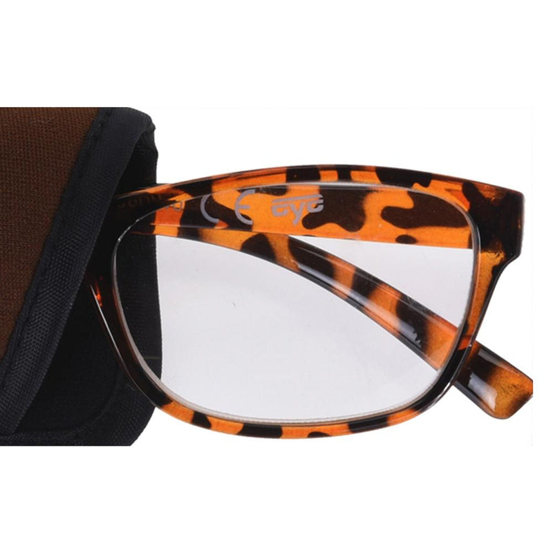 Rectangular Glasses with Pouch