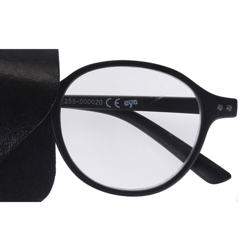 ROUND READING GLASSES IN POUCH
