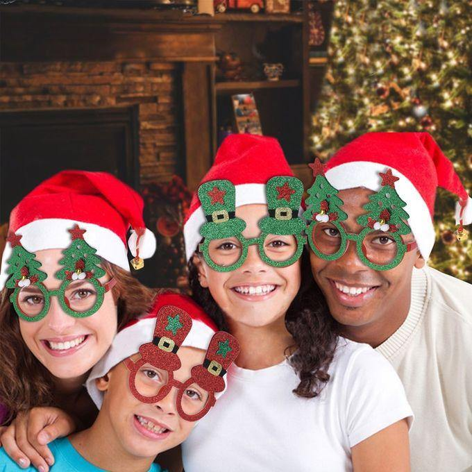 Eco Glasses Frame Christmas Set of 3