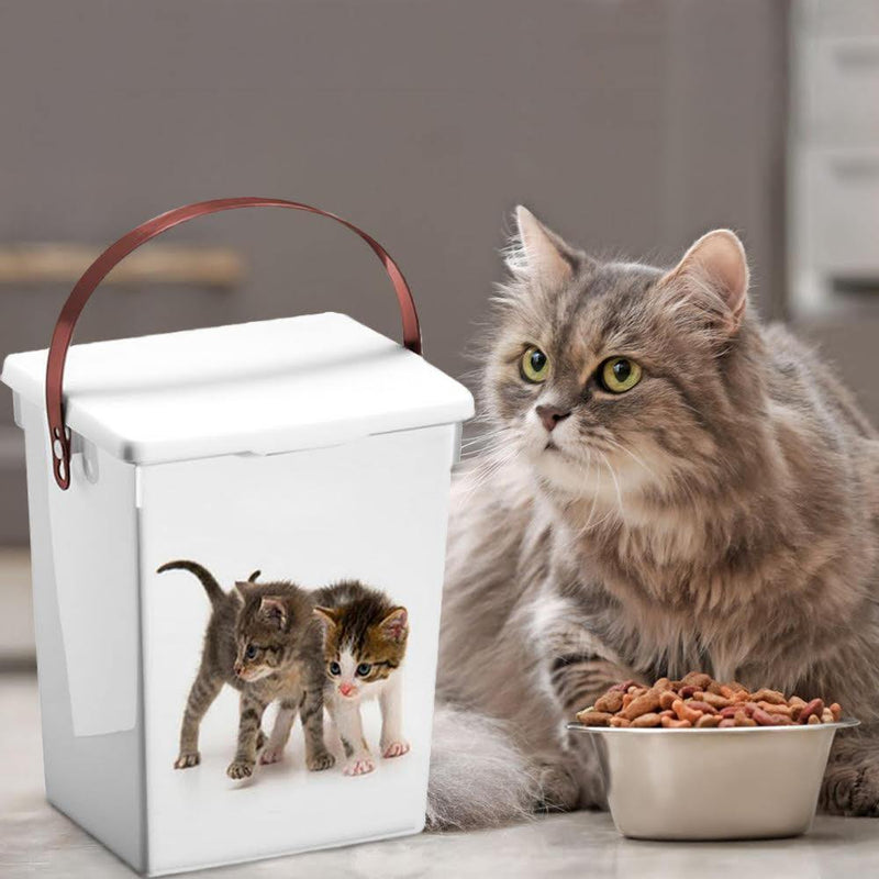 5L Pet Food Container Feeder