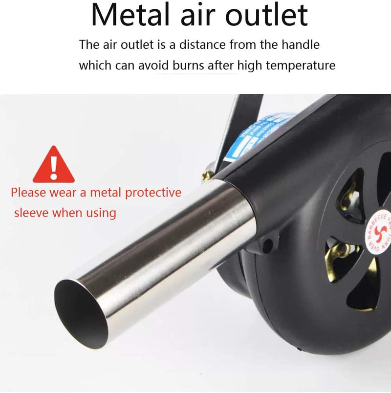 Metal barbecue Fan Pistol