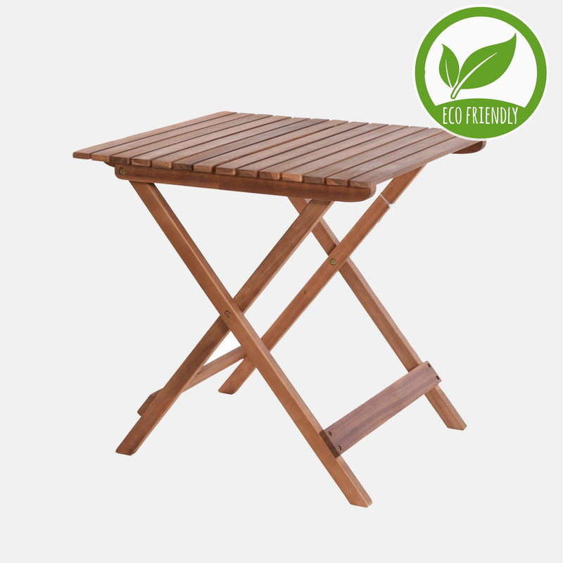 Eco Acacia Wooden Foldable Table