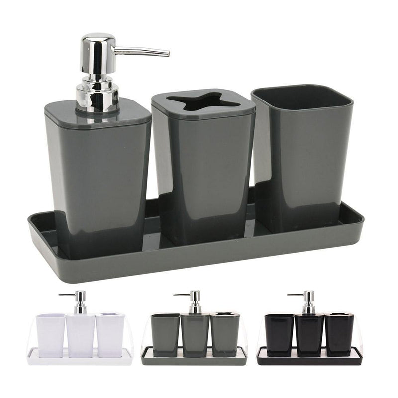 Bathroom set of 4 pieces
