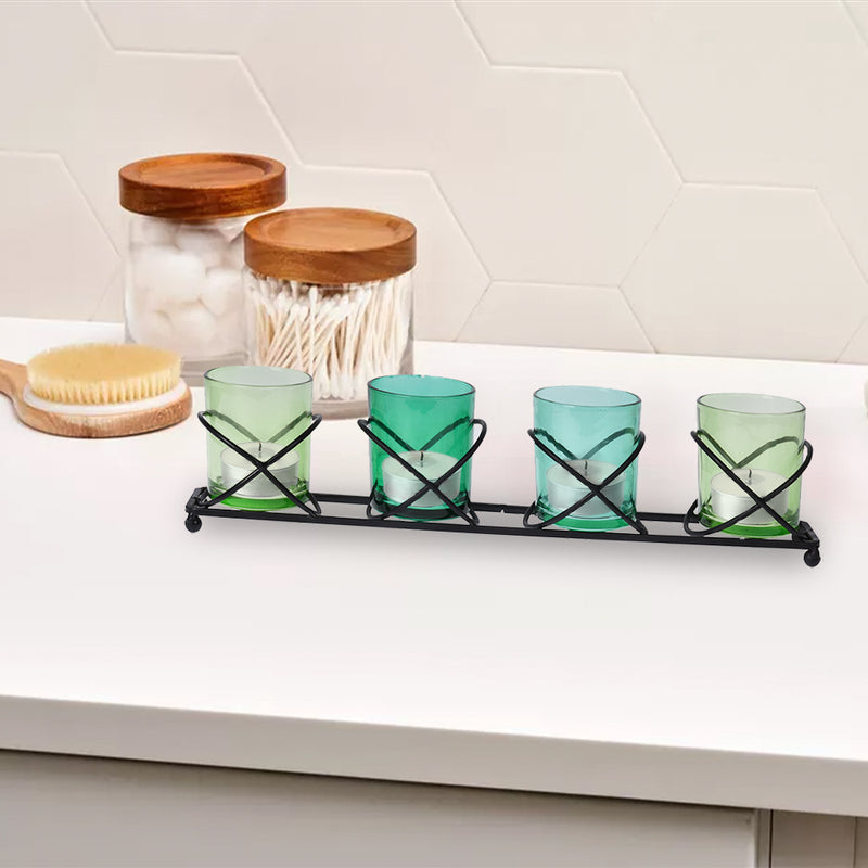 Tealight Holder Set Metal