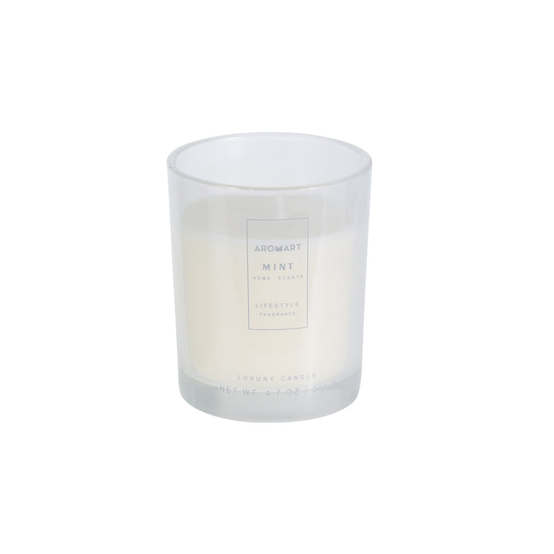 Wax Scented Candle In Jar
