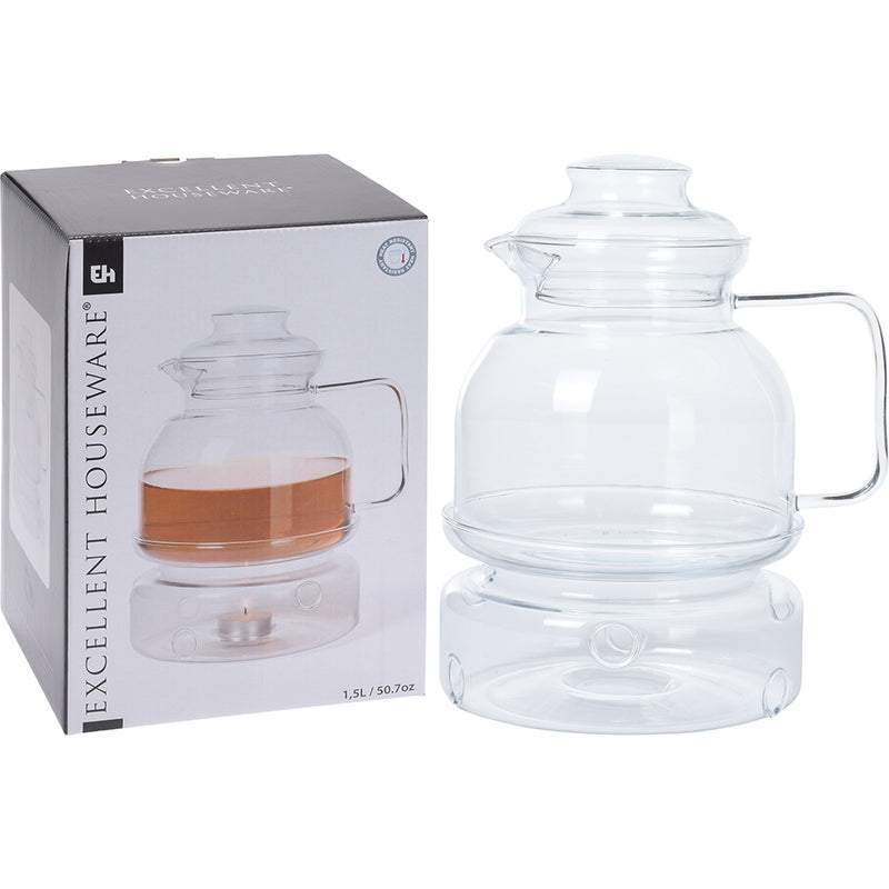 Tea Pot With Heater - 1500ml