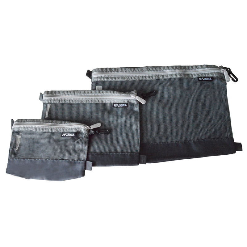 Mesh Travel Organizer - Set of 3