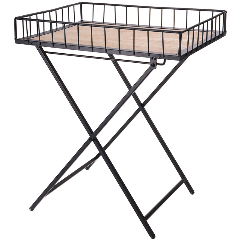 Modern Folding Metal Table