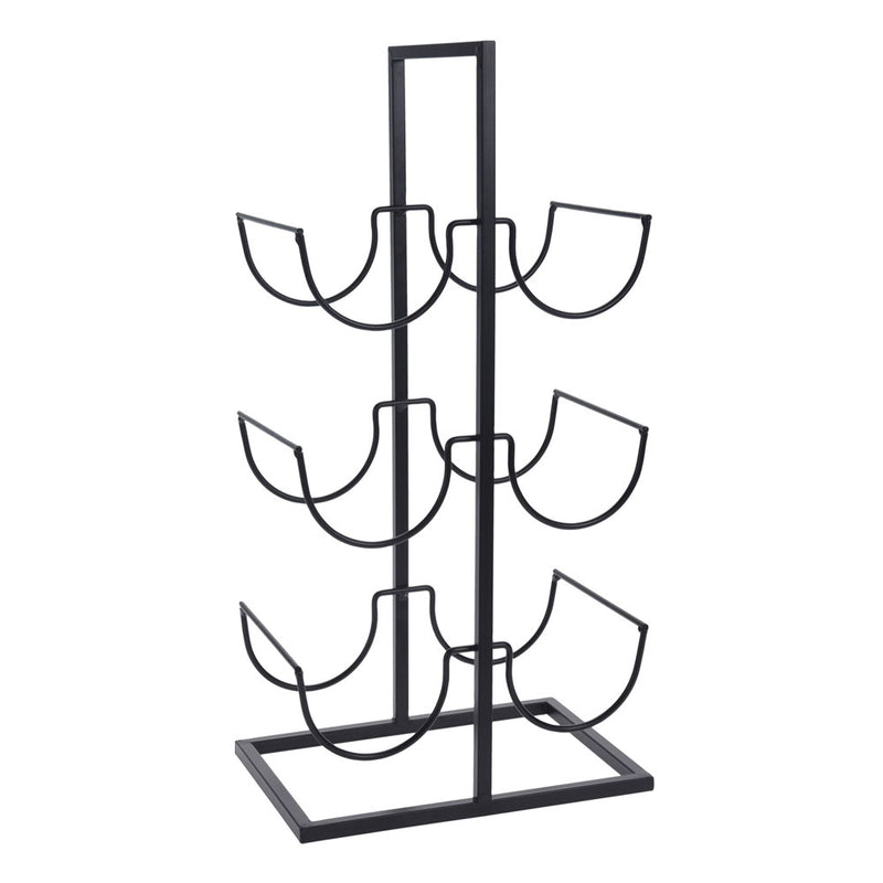 Metal Wine Rack - 6 Bottles