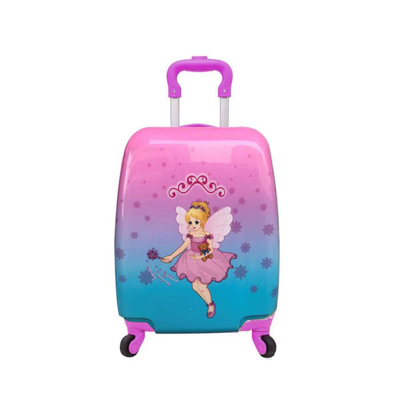 Kids Hard Cover Luggage Case - Girls