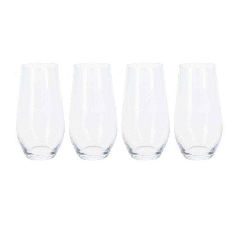 580ml Crystalline Water Glass - Set of 4