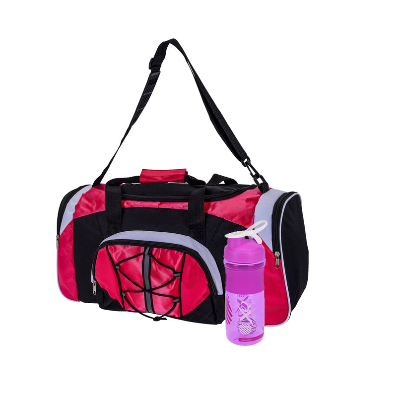 Sports Bag with Sport Bottle