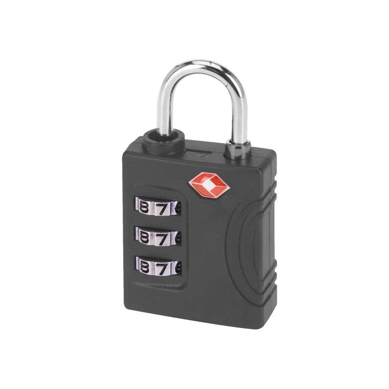 3 Dial Combination TSA Lock | Black