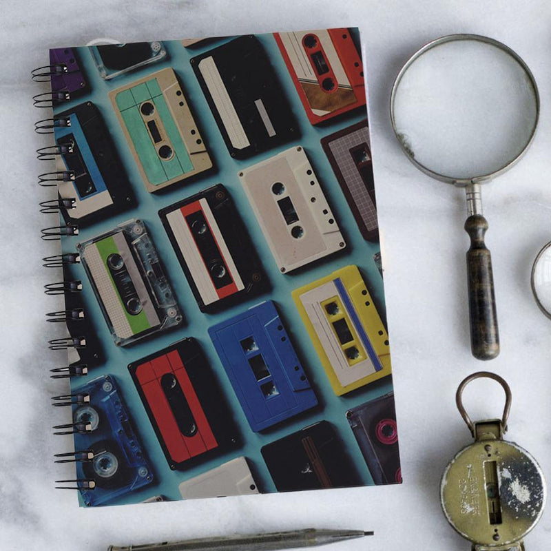 A5 Hard Cover Notebook - Records