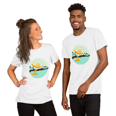 Short-Sleeve Unisex T-Shirt letsgowinging fresh