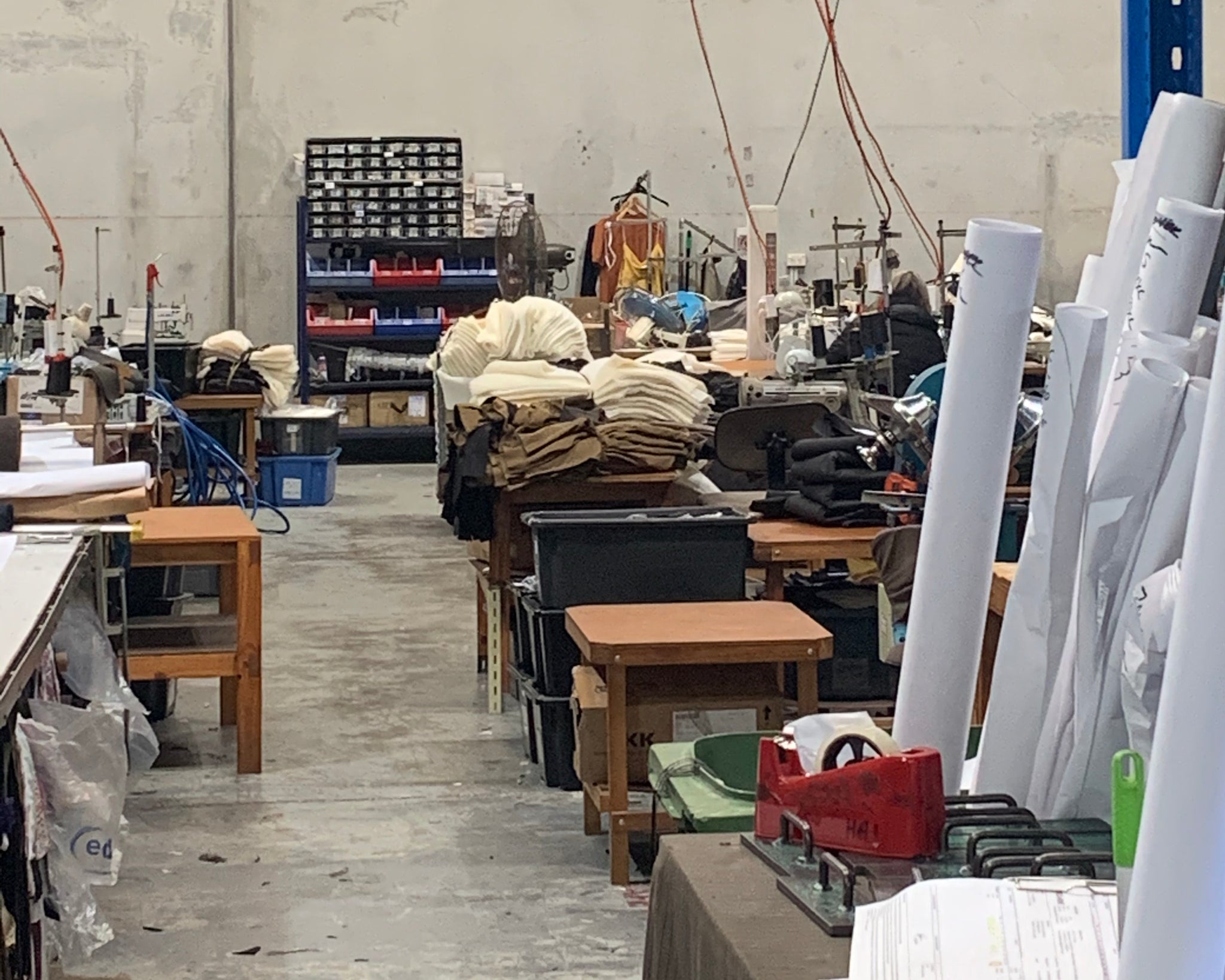 Our factory in Brisbane