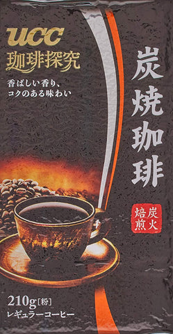 UCC Coffee Exploration Series Charcoal Roasted Coffee