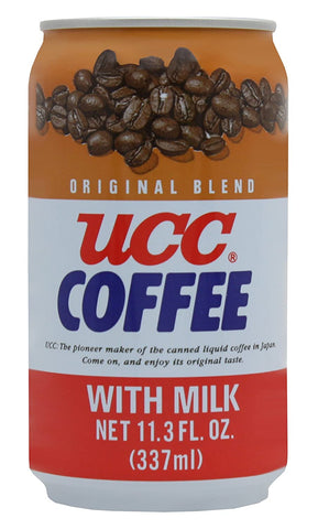 UCC Original Coffee with Milk, 11.3- Fl. Oz Cans (Pack of 24)