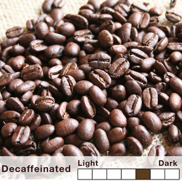 Decaffeinated - Premium Blend Coffee - Charcoal Roasted
