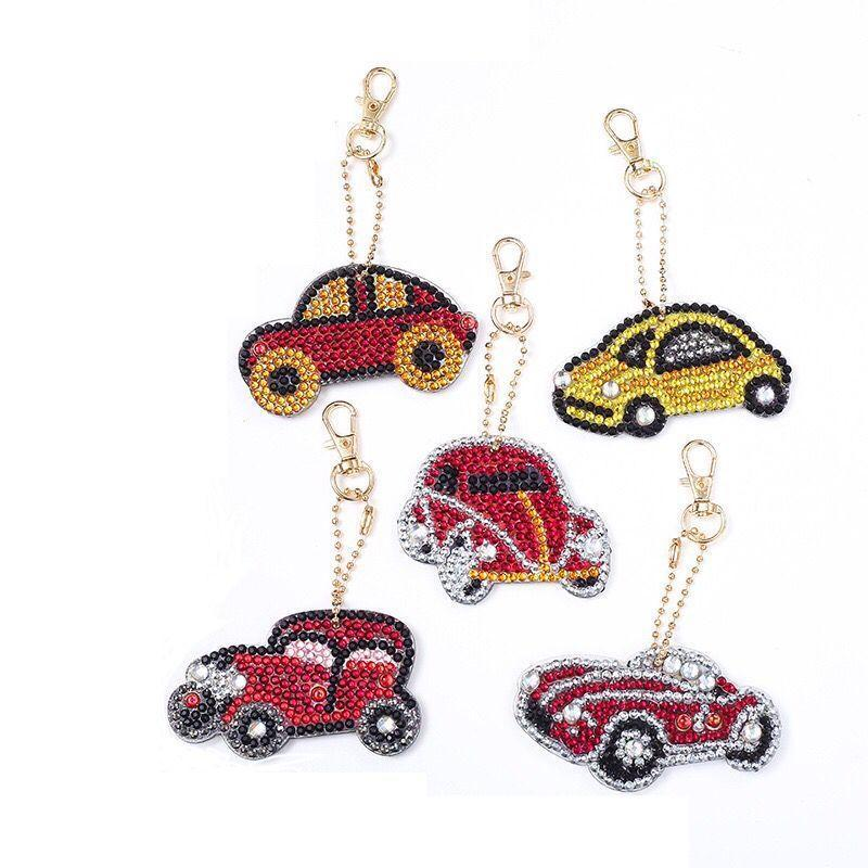 01 Keychain Cars 5 pieces