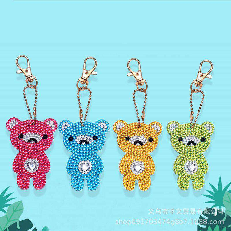 Key ring Bears 4 pieces