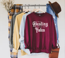 Load image into Gallery viewer, It Was Destiny Woven By The Fates Sweatshirt | A Touch of Darkness