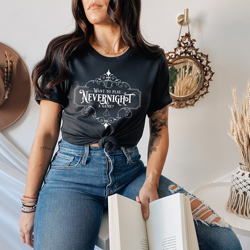 Nevernight Shirt | A Touch of Darkness
