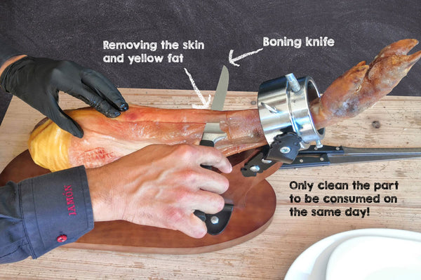 REMOVING THE RIND & FAT