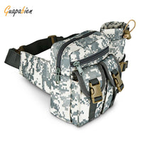 Guapabien Tactical Waist Pack with Water Bottle Pocket Holder