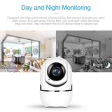 Home Security Surveillance Camera Auto Tracking Network WiFi