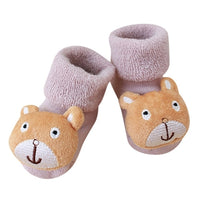 Cute Cartoon Newborn Baby Socks calcetines Kids