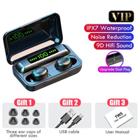 Sports Waterproof Earbuds Headsets With Microphone