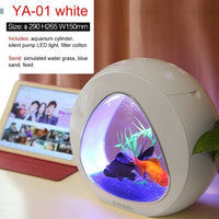 Mini Nano Ecology Fish Tank Integration Filter LED Light System